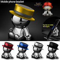 360° Rotation Hat Man Car Magnetic Holder Mount Dashboard Stand For Mobile Phone