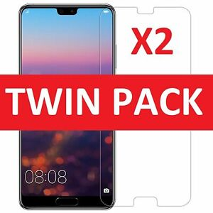 100% GENUINE TEMPERED GLASS SCREEN PROTECTOR COVER FOR HUAWEI P20 PRO 2018