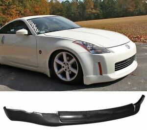 For 03-05 Nissan 350Z Lower Front Bumper Lip Spoiler Body Kit ING Poly Urethane