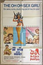 Sexy Mermaid Doris Day  SPY IN THE LACE PANTIES 1966 Org Movie Poster 364