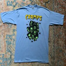 New listing The Cramps 80s T Shirt horror halloween dead boys vintage healthknit