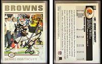 Dennis Northcutt Signed 2004 Topps #277 Card Cleveland Browns Auto Autograph