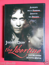 dvds film johnny depp the libertine john malkovich samantha morton john wilmot v