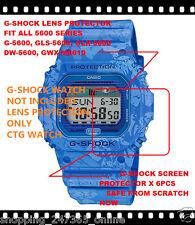 G-SHOCK GLX-5600F FLORAL SCREEN PROTECTOR X 6 OK G5600 GLS5600 DW5600 GWM5610 TR