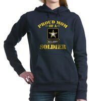 CafePress Proud U.S. Army Mom Hooded Sweatshirt Pullover Hoodie (1277119171)