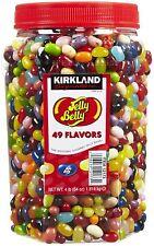 KIRKLAND Original Jelly Belly Beans - 49 Flavors -  4 LB