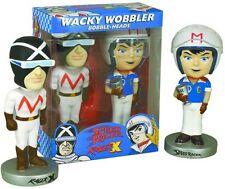 Speed Racer & Racer X Bobbleheads Wobbler Set by Funko
