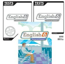 Bju Press - English 6: Student Worktext with Tests & Test Key (2nd edition)