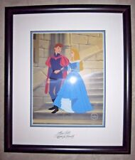 Disney Cel Sleeping Beauty - Phillip & Aurora- Limited Edition SIGNED FRAMED