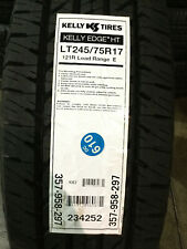 1 New LT 245 75 17 LRE 10 Ply Kelly Edge HT Tire