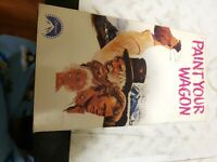 Paint Your Wagon 1969/1991 (VHS, 2-Tape Set) Clint Eastwood