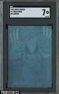 1992 Impel Marvel Hologram Wolverine SGC 7 NM