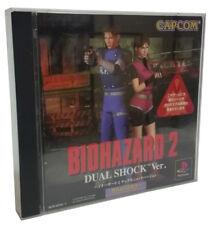 Biohazard 2 PS1 Dual Shock V. Resident Evil 2 Survival Horror Japanese Import