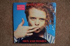 "Simply Red LP ""Men And Women"" Elektra (60727), Vinyl Excellent"