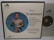 San 121-5 Wagner Lohengrin Orquesta Filarmónica de Viena Kempe con un 5LP Box Set