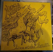 Miracle Workers ‎– Live At The Forum Lp 1988+Inner Glitterhouse NM