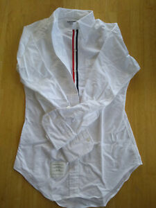 NWOT Thom Browne Women's White Oxford Button Down Several Sizes MSRP $425