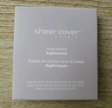 Sheer Cover – Sophisticate All-Over Face Palette- NEW