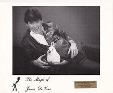 The Magic of James De Vore, White Rabbit in a hat
