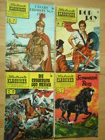Illustrierte Klassiker Nr.28, 37, 86, 95 - Konvolut ORIGINAL BSV Comichefte