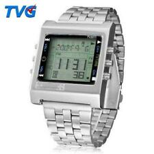 TVG New Rectangle Remote Control Digital Sport Watch Alarm Remote Men Ladies New