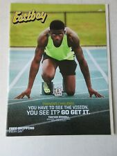 Trayvon Bromell Eastboy catalog March 2017 sneakers Sprinter