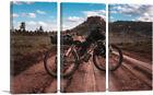 ARTCANVAS Dirt Bike Motocross Road Canvas Art Print