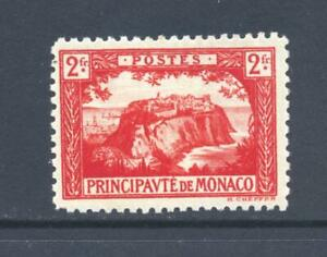 Monaco 1922 SG 61 The Rock with  Railway Tracks  MH