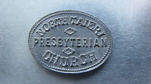 New Zealand communion token - North Taieri. Choice grade.