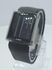 Philippe Starck PH1065 digital men's watch rubber strap black PH-1065 S+ARCK