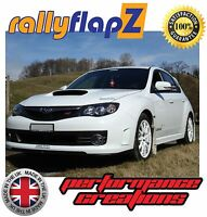 Custom Mudflaps SUBARU IMPREZA Hatchback (2008-2014) rallyflapZ 4mm PVC White
