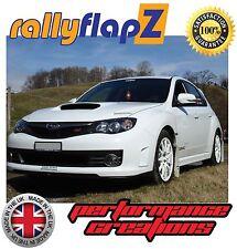 Custom Parafanghi SUBARU IMPREZA Hatchback (2008-2014) rallyflapZ 4mm PVC Bianco