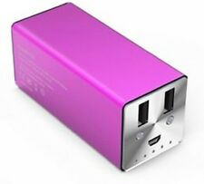 Konnet PowerEZ Pro External Rechargeable Battery - Magenta - 11,200mAh