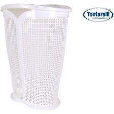 Soluciones de almacenamiento Blanco de metal para el hogar