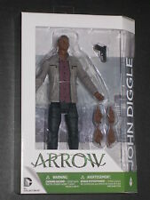 ARROW TV SERIES JOHN DIGGLE DELUXE FIGURE DAVID RAMSEY DC COLLECTIBLES CW NEW