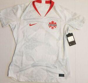 Nike Team Canada 2020/21 Away Stadium Soccer Jersey CU3743-100 Women Size Medium