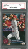 2019 TOPPS NA. BASEBALL CARD DAY SHOHEI OHTANI #8 ROOKIE CARD  ~ BSG Graded 9