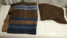 Queen Ruffled Bed-Skirt + 2 King pillow shams Mainstays New