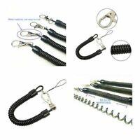 2/5 / 10pcs Ressort Rétractable Spirale Chaîne Stretch Porte-clés10,5 cm