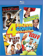 Walk Hard / The Brothers Solomon / Fired Up /Balls Out (Blu-ray Disc) - NEW!!