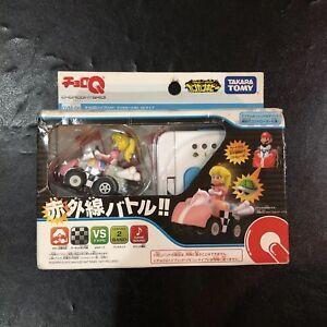 NINTENDO Takara Tomy SUPER MARIO Peach KART Choro Q Remote Control Japan QVM-06