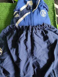 adidas Condivo Schalke 04 Trainingsanzug, Größe 2xl