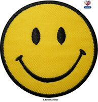 Smiley Face Embroidered Emoji Iron On Sew On Patch Clothes Bag T Shirt Badge