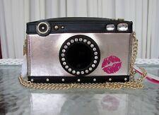 Betsey Johnson Kitsch Camera Crossbody Bag Strike a Pose Purse NWT