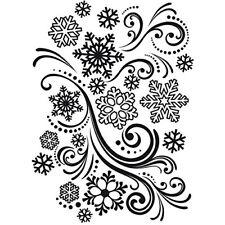 Plaque D'embossage Snowflake de Darice