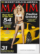 Maxim December 2013 Paulina Gretzky, Sexiest Girls, Best of Year, 31 Dive Bars