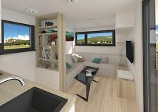 Haus Exklusiv Mobilheim Stahlkonstruktion Fertighausbausätze mobile home