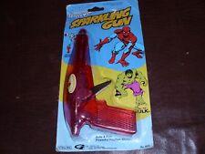 Vintage Amazing Spider-Man Sparkling Gun Marvel Avenger Rare Marvelmania MOC1978