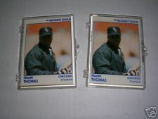 Lot of (2) 1991 Star Rookie Guild FRANK THOMAS sets