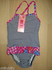 Me Too Bright White Sidset Mini Swimsuit 12-18 Months BNWT